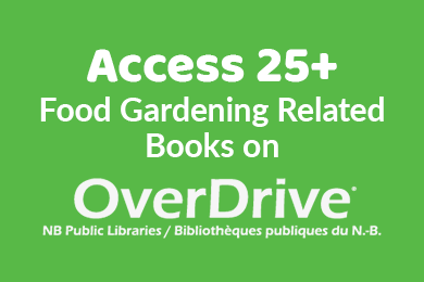 Food Gardening Books on Overdrive