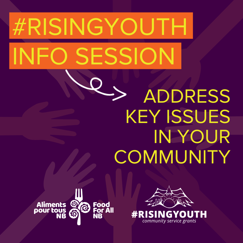 #RisingYouth Info Session