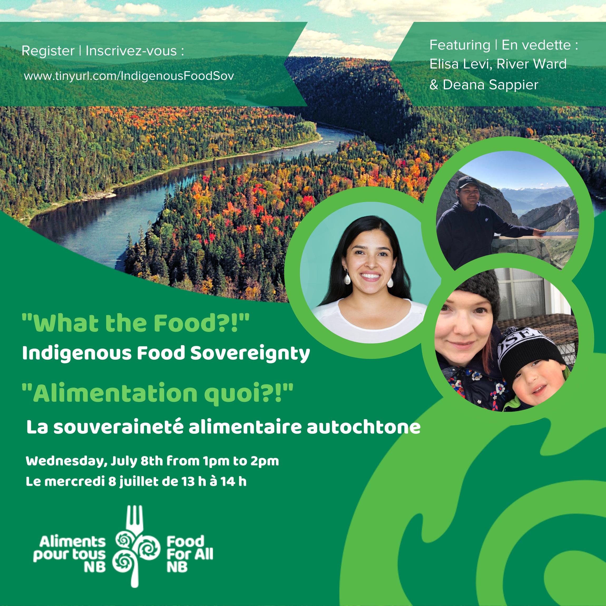 Alimentation Quoi?! Épisode 4 : La souveraineté alimentaire autochtone