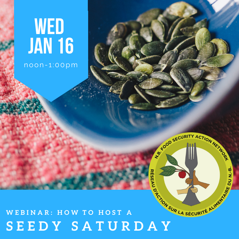 How to host a Seedy Saturday (anglais seulement)