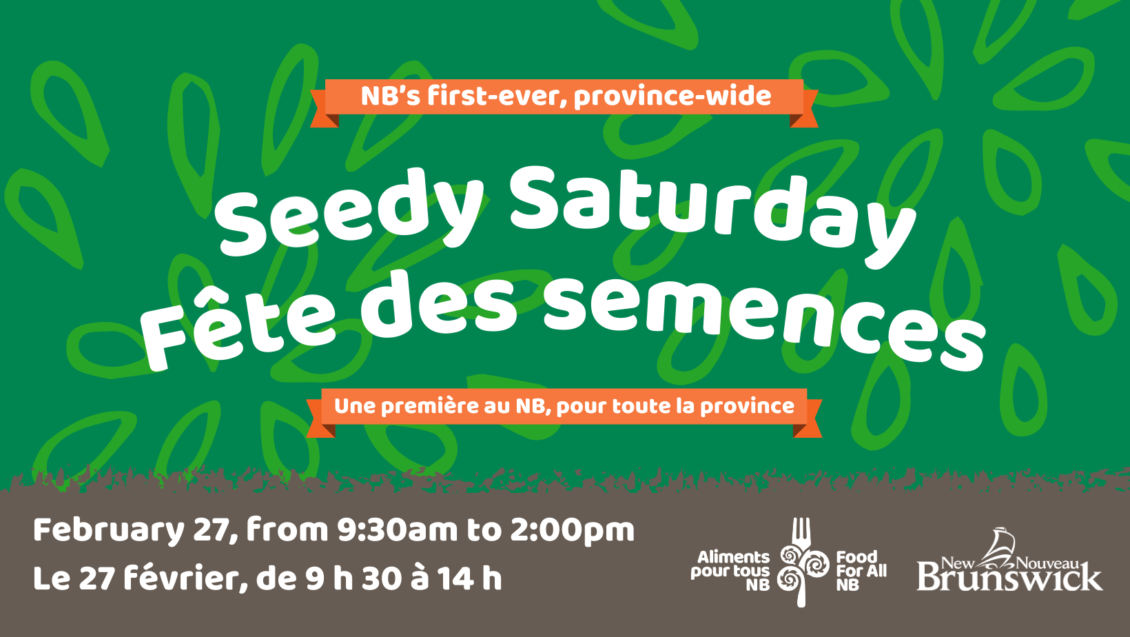 Province-wide Seedy Saturday