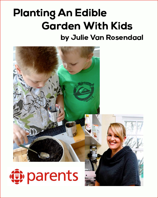 Planting An Edible Garden With Kids