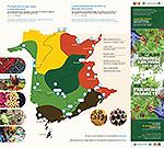 Carte des marchés fermiers du N-B