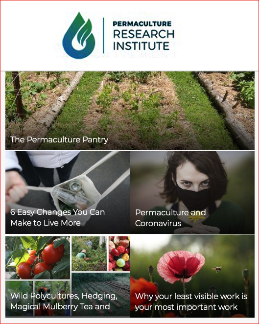The Permaculture Research Institute (PRI)