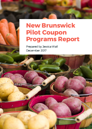 New Brunswick Pilot Coupon Programs Report