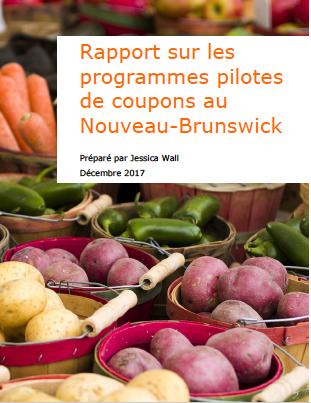 Rapport sur les programmes pilotes de coupons au Nouveau-Brunswick